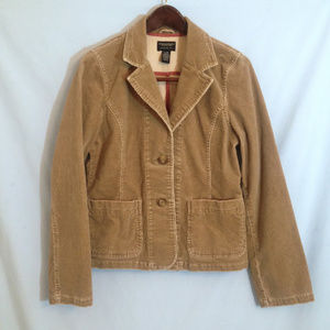 AEO Tan Light Brown Corduroy Jacket